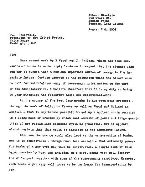 up letter affair einstein s letter to president roosevelt
