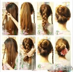 cool easy step hairstyles 编发发型图片 百度知道
