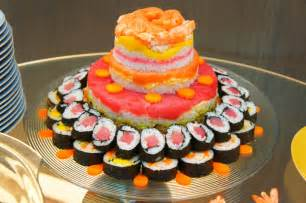 sushi cake recipe dishmaps
