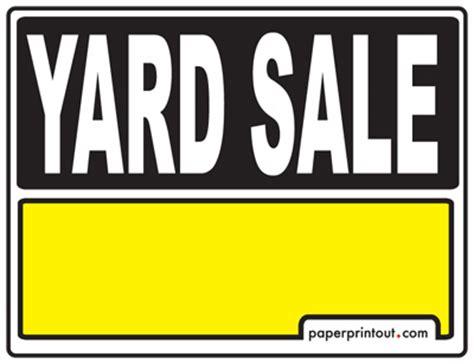 garage sale signs diy