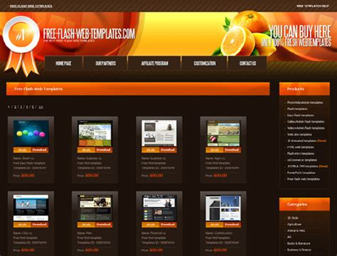 20 Places To Download Free Website Templates And Free Flash Templates Designbeep Free Website Templates