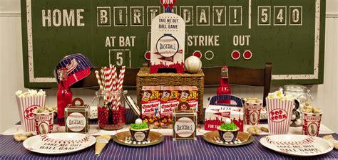 baseball themed birthday party baseball time birthday express