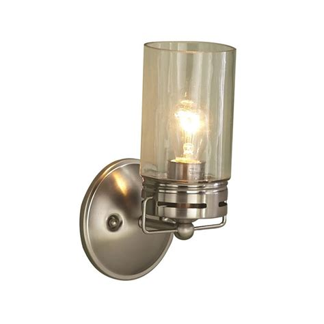 Allen Roth Wall Sconce Shop Allen Roth Vallymede 5 In W 1 Light Brushed Nickel