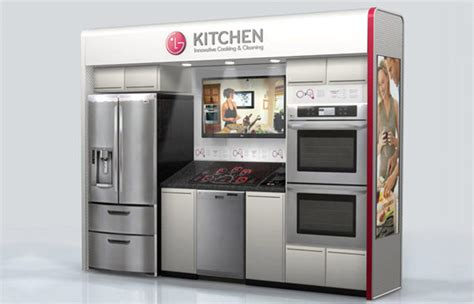 home appliance g clasf lg kitchen display