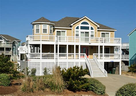 All Decked Out Vacation Rental Twiddy Company Cheap Outer Banks House Rentals
