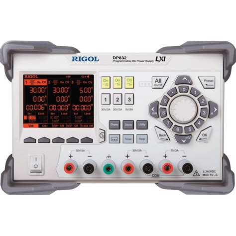 bench power supply review rigol dp832 3 output variable bench dc power supply rapid online