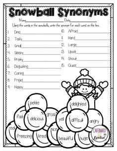 2nd grade grammar christmas free fall math and literacy printables grade grade literacy math