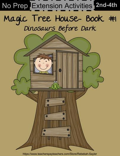 Magic Tree House Dinosaurs Before Book Report by Magic Tree House Book 1 Dinosaurs Before By Thesaylers Teaching Resources Tes