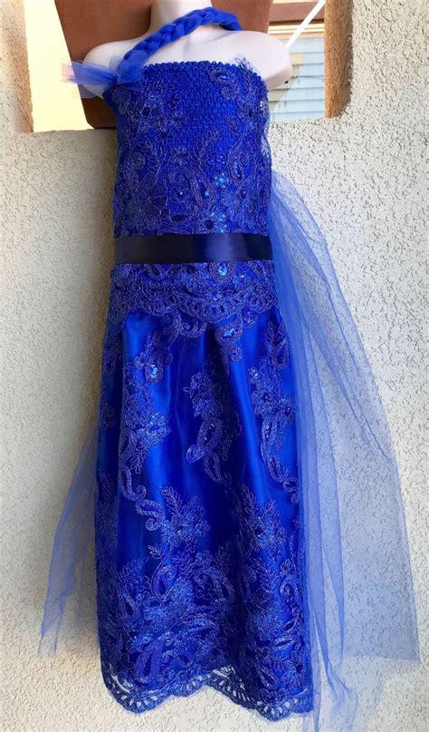 evie costume descendants  blue cotillion cotillion