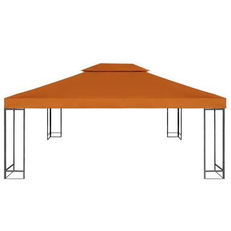 waterproof gazebo cover canopy terracotta 10 x 13