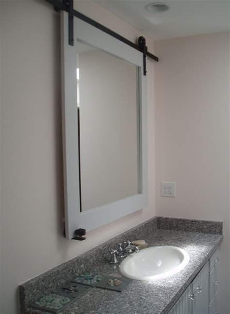 Bathroom Mirror Doors Small Bathroom Design Idea Welcome To Kitchen Studio Of Naples Inc