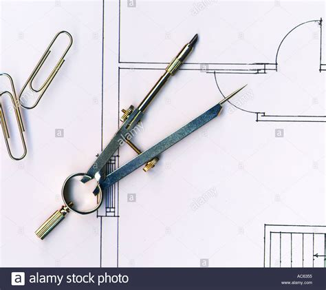 architecture drawing tool architects tools stock photo royalty free image 811861