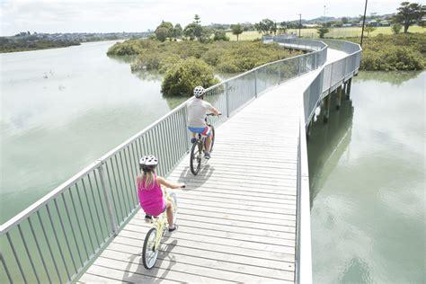 water scooter nz te ara tahuna estuary shared path