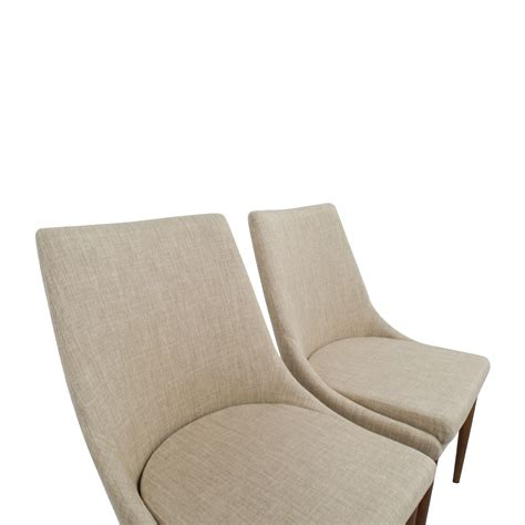 Side Accent Chairs 72 Inmod Inmod Beige Calais Side Chairs Chairs