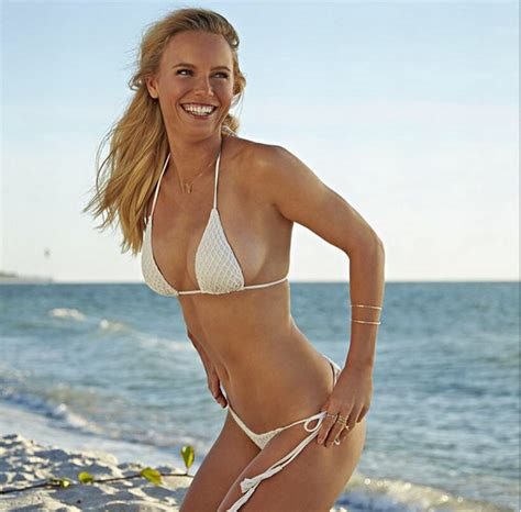 Steve Barnes Arkansas Caroline Wozniacki Wows In Latest Sports Illustrated