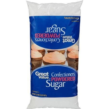 great value powdered sugar 2 lb sheri s store to door