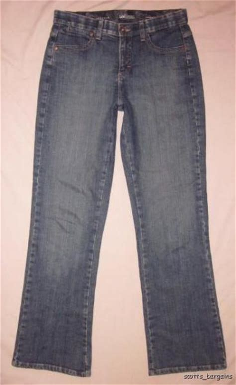 lee comfort waistband stretch pants womens lee jeans size 8 stretch comfort waistband ebay