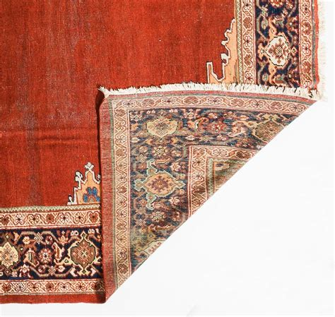 shabby chic antique ziegler mahal rug for sale at