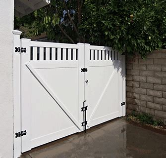 12 Foot Vinyl Gate by Custom Vinyl Driveway Gates Los Angeles Ca Buy Gates Simi