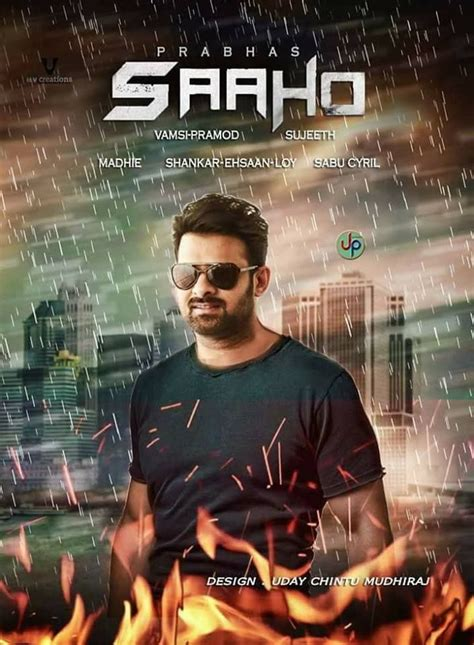 25 amazing saaho movie posters made by prabhas fans   actorprabhas club