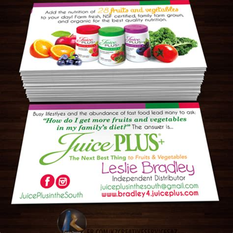 juice plus business cards template isagenix business cards style 1 183 kz creative services