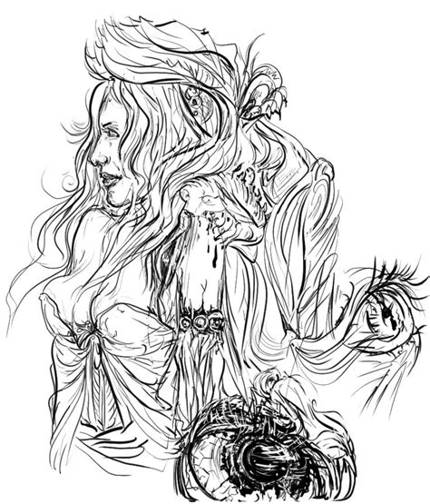 fantasy coloring pages for adults fantasy difficult