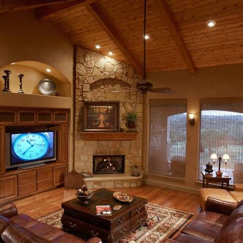 Corner Fireplace Remodel by Corner Fireplace Design Ideas Pictures Remodel And