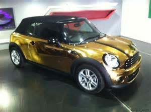 Gold Mini Cooper Gold Mini Cooper Ecstasy