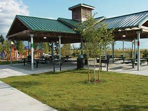 Sunset park is located at the top of lakeland hills the park covers 15