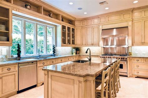 Light Wood Kitchens Kitchen Cabinet With The Interior Design You Kitchens Traditional Light Wood Cabinets