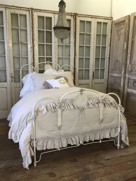 full size iron bed antique full size iron bed