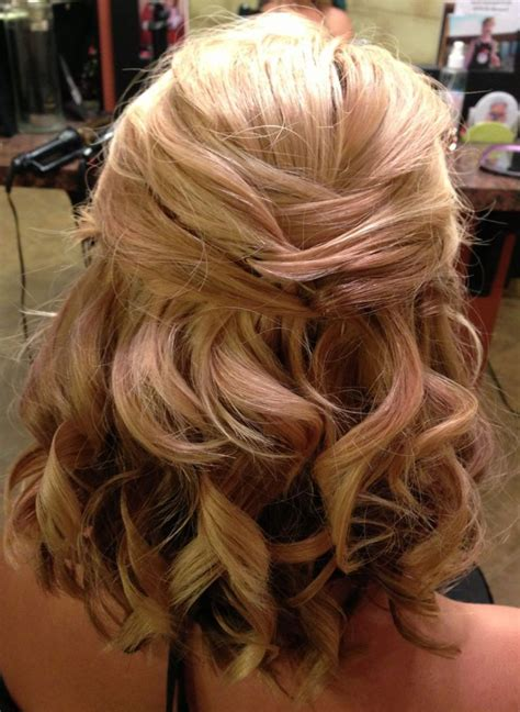 Homecoming Hairstyles For Medium Hair Half Up Half by Half Up Half Hairstyles Medium Length Hair Prom Www