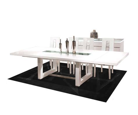 modern dining table white white lacquer dining table nola modern dining