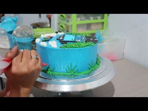 Cake Topper Custom Penghias Kue 2 spongebob cake easy unique how to make by lenscake kdi