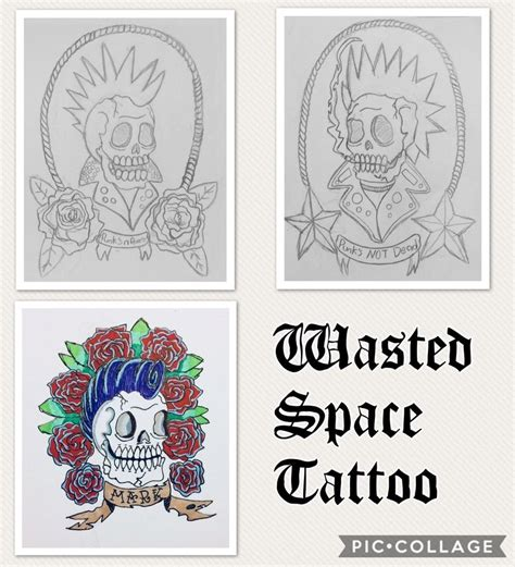 wasted space wasted space tattoo exles by 19swasted space on deviantart