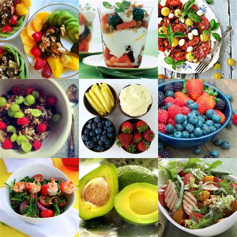 Color Food Collage Denice Linnea Lindell Healthy Food Collage
