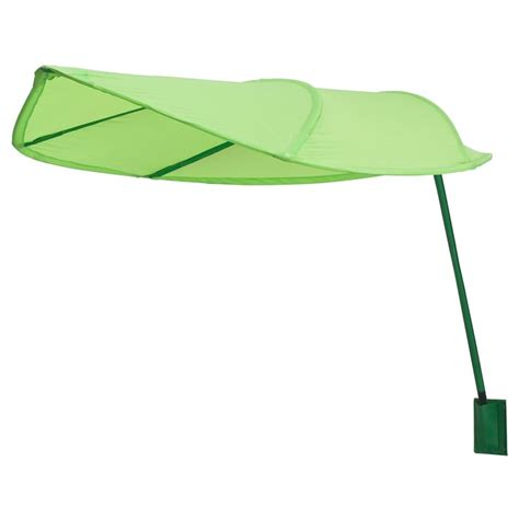 ikea leaf l 214 va bed canopy green