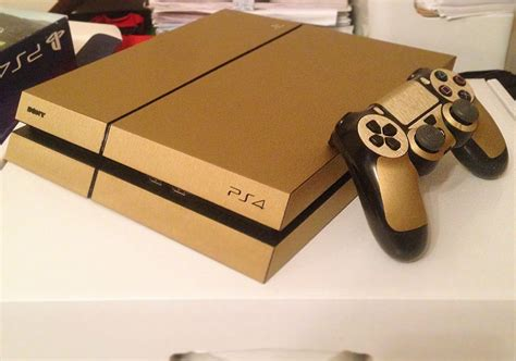 for ps4 wrapping ps4 and controller gold