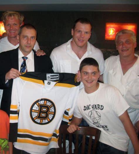 Kitchen Nightmares Boston by Gordon Ramsay Boston Bruins Shawn Thornton With Davide