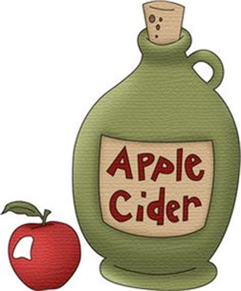 apple cider cider jug clipart 3