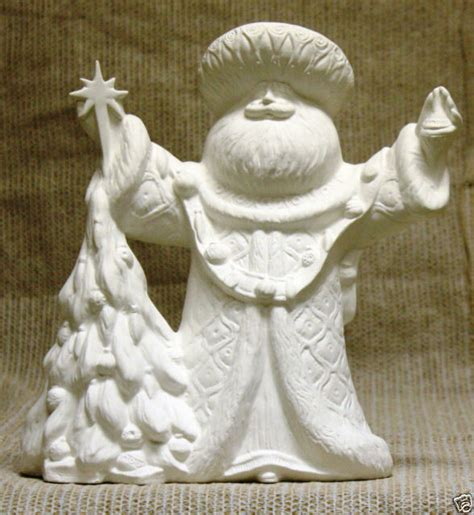 how are ceramic ornaments molded ceramic bisque santa ornament gare mold 2960 u paint ready to paint ebay