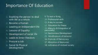 The Importance Of Education Essay by Essay On The Importance Of Education In Bminsuranceagency