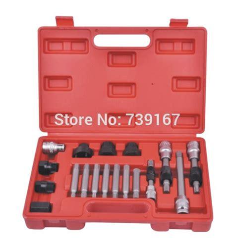 alternator freewheel pulley repair removal kit univesal online buy wholesale alternator pulley removal tool from china alternator pulley removal tool