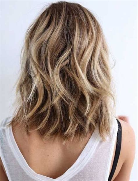 mid length hair cuts longer in front 25 best ideas about shoulder length hairstyles on