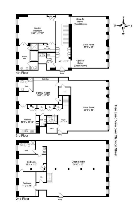 8 york street floor plans 202 best images about apartment floor plans on pinterest