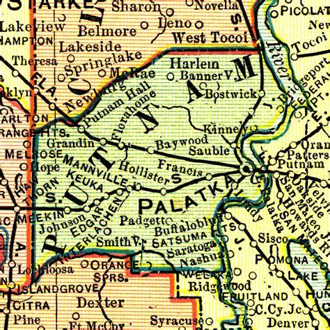 Putnam County Florida Records Putnam County Fl Map Foto 2017