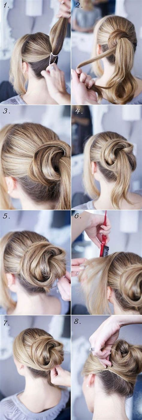 diy hairstyles step by step tumblr diy bun hairstyle pictures photos and images for