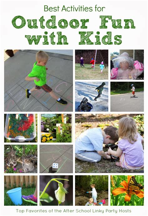 Backyard Activities For by Top Activities For Outdoor And Adventures With The Educators Spin On It