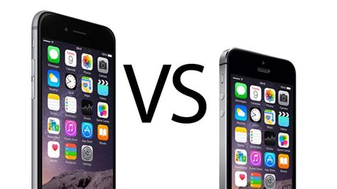 v iphone 6 iphone 5s vs iphone 6 comparison review macworld uk