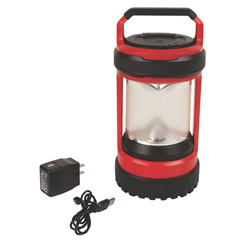 Battery Operated L Post by Coleman Lantern Conquer Spin Li Ion 550l 2000025510